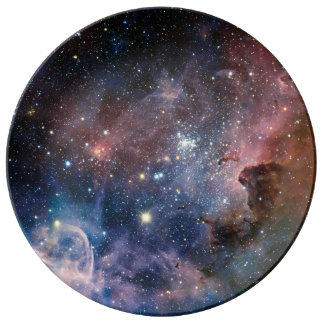 Los secretos ocultados de la nebulosa de Carina Platos De Cerámica