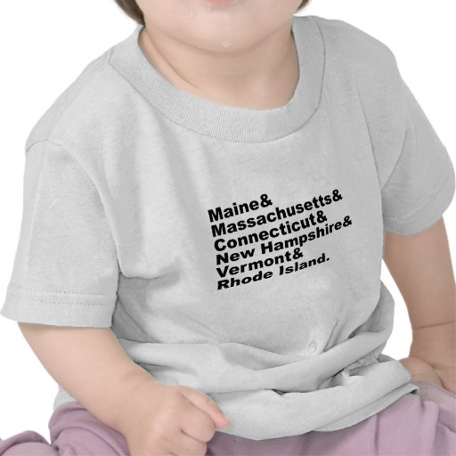 Los seis estados de nordeste que componen Nueva In Camiseta
