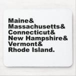 Los seis estados de nordeste que componen Nueva In Tapete De Ratones