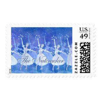 Los sellos del cascanueces con la danza de los