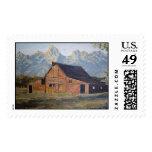 Los sellos del granero de la montaña rocosa