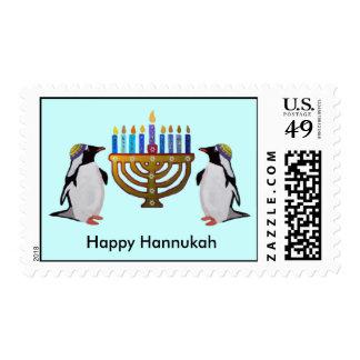 Los sellos elegidos congelados de Hannukah