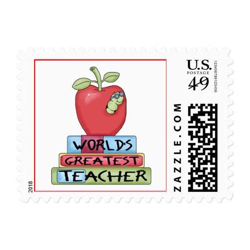 Los sellos más grandes del profesor del mundo