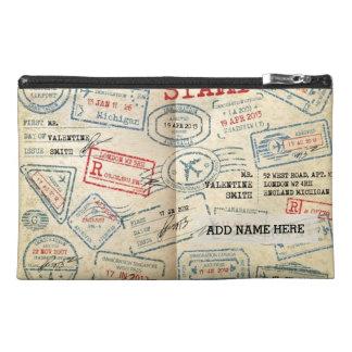 Los sellos retros del pasaporte del estilo