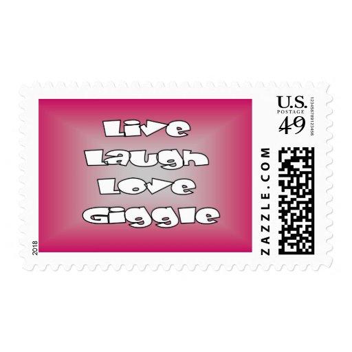 Los sellos viven las tarjetas de los sellos de la