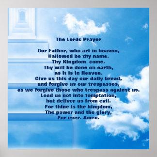 """Los señores Prayer 24"""" x 24"""", papel de poster"""