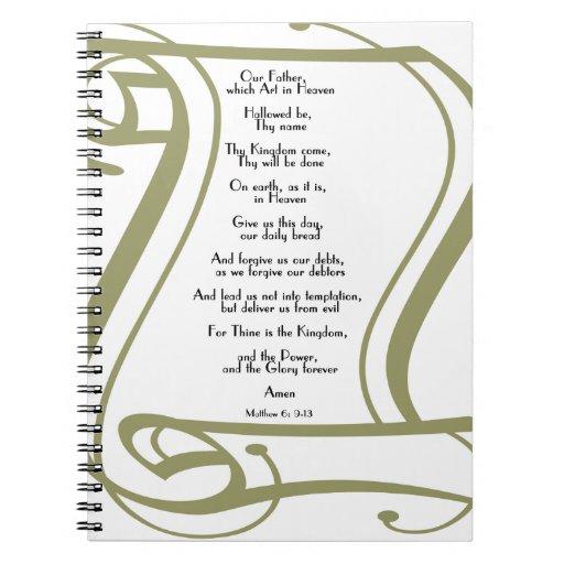Los señores Prayer Note Book