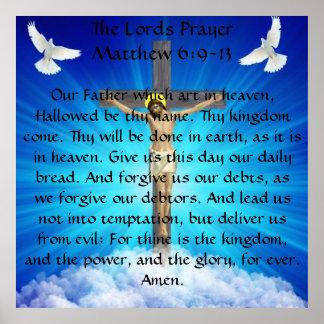 Los señores Prayer Poster
