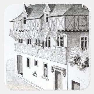 """Los señores y los barones """"hacen ventanas de pegatina cuadrada"""