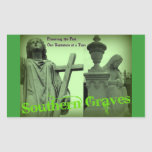 Los sepulcros meridionales van verde etiquetas