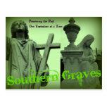 Los sepulcros meridionales van verde postales