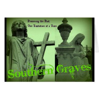 Los sepulcros meridionales van verde tarjeta pequeña