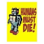 Los seres humanos deben morir postal