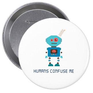 Los seres humanos me confunden pin