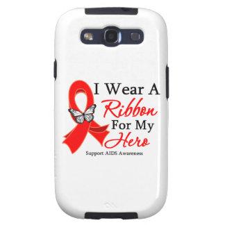 Los SIDA I llevan una cinta para mi héroe Galaxy SIII Coberturas
