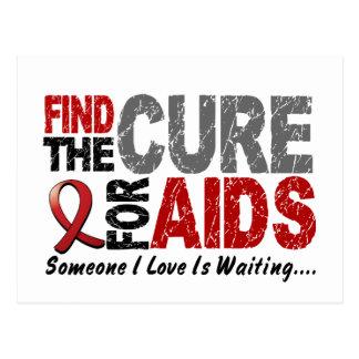 Los SIDA/VIH encuentran la curación 1 Tarjetas Postales