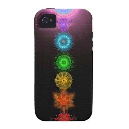 Los siete Chakras iPhone 4/4S Carcasa