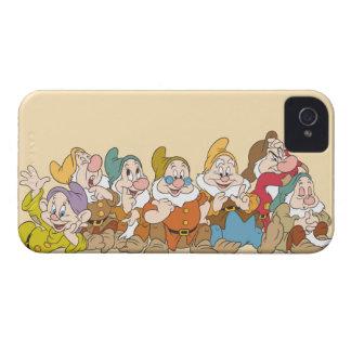 Los siete enanos 2 iPhone 4 Case-Mate carcasas