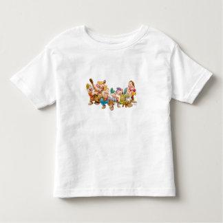 Los siete enanos 3 playera de niño