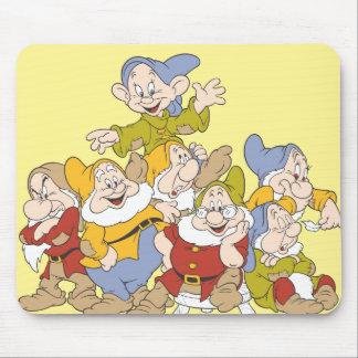 Los siete enanos 4 alfombrilla de ratón
