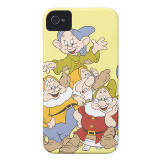 Los siete enanos 4 funda para iPhone 4