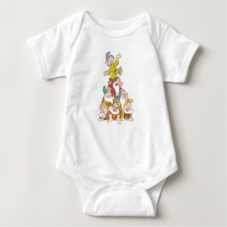 Los siete enanos 5 body para bebé