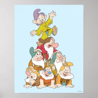 Los siete enanos 5 poster