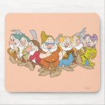 Los siete enanos 6 mouse pad