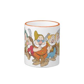 Los siete enanos 6 taza de dos colores