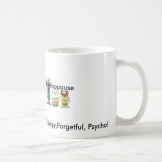 Los siete enanos de la taza de la menopausia