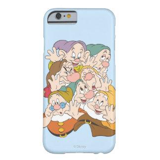 Los siete enanos funda para iPhone 6 barely there