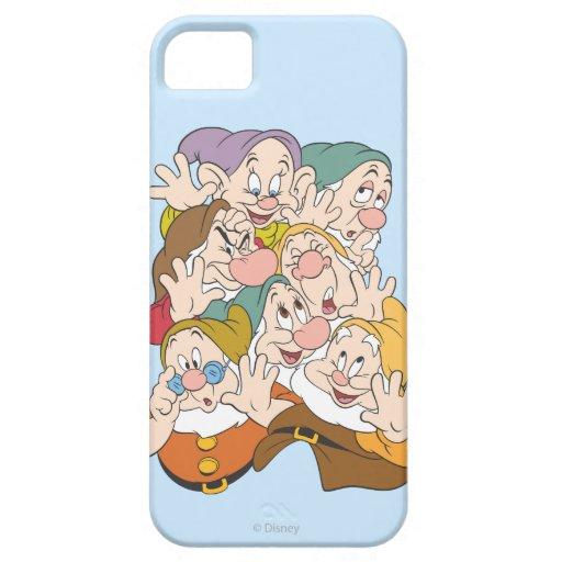 Los siete enanos iPhone 5 carcasa
