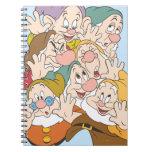 Los siete enanos libretas
