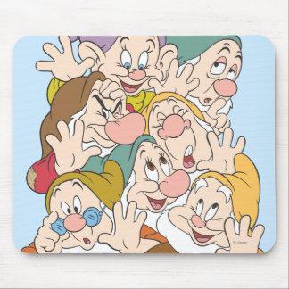 Los siete enanos mouse pad