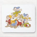 Los siete enanos tapete de raton