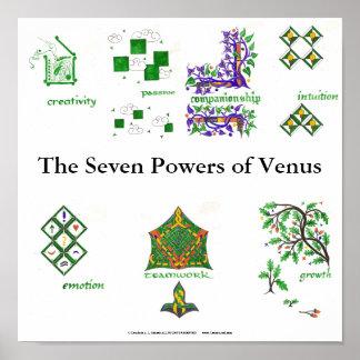 Los siete poderes de Venus Posters