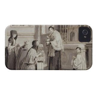 Los siete sacramentos: Comunión, 1779 (pluma, Case-Mate iPhone 4 Funda