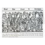 Los siete santos de Bretaña Tarjeta De Felicitación