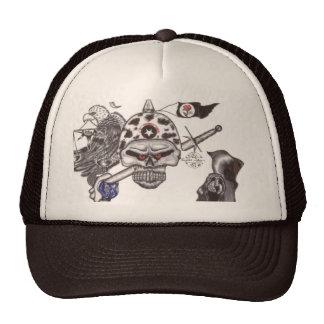 Los símbolos y el secreto del cráneo de Ghost& Gorra