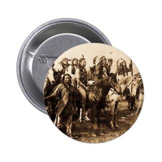 Los Siux poderosos Pin Redondo 5 Cm