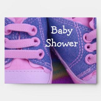 Los sobres de la fiesta de bienvenida al bebé pers