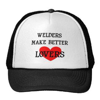 Los soldadores hacen a mejores amantes gorro de camionero