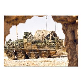 Los soldados de los E.E.U.U. conducen a una patrul Foto