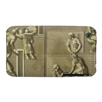 Los soldados romanos que construyen un fuerte, iPhone 3 protectores