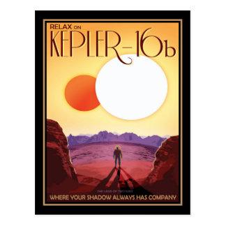 Los soles gemelos de Kepler-16b Postales