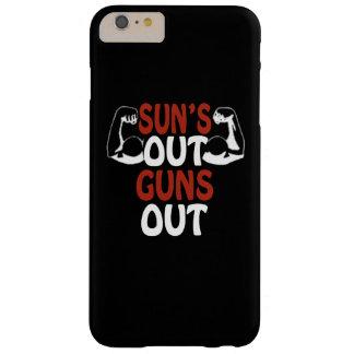 Los soles hacia fuera disparan contra hacia fuera funda de iPhone 6 plus barely there