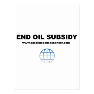 Los subsidios del aceite del extremo liberan el pl postales