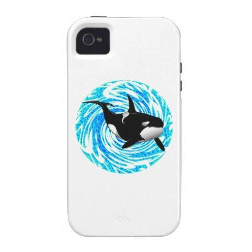 LOS SUEÑOS DE LA ORCA VIBE iPhone 4 CARCASA