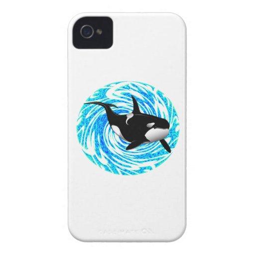 LOS SUEÑOS DE LA ORCA Case-Mate iPhone 4 COBERTURAS