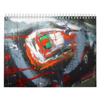 los sueños de los pintores calendario de pared